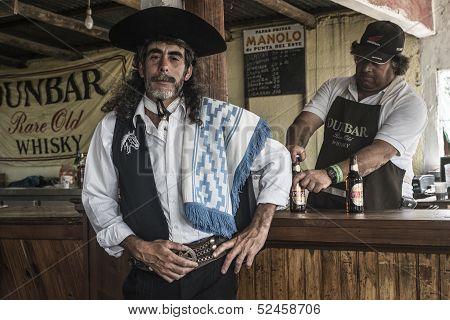 Gaucho in Marelli, Uruguay