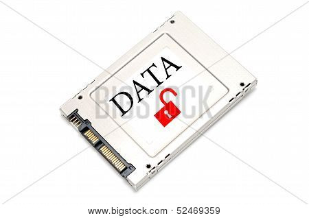 Concept Unsecured Data Drive