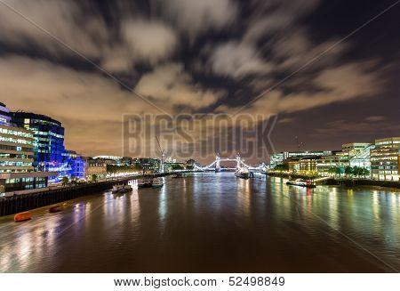 Hms Belfast On River Thames