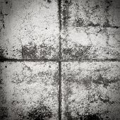 Black and white concrete grunge background wall dirty texture poster