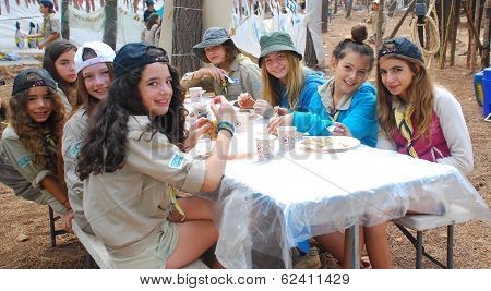 Israel Scouts Summer Camp
