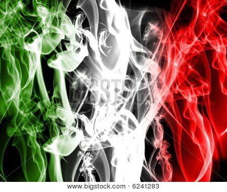 Abstract Italian Flag