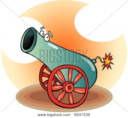 Funny cannon