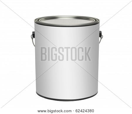 Paint can, isolated