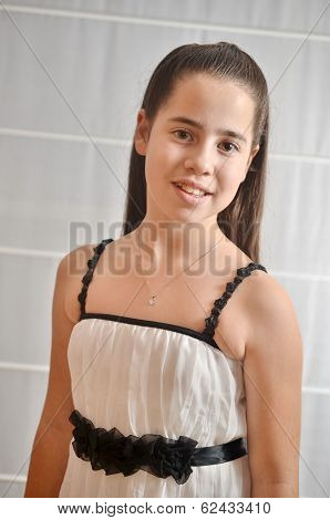 Portrait Of A Bat Mitzvah Girl