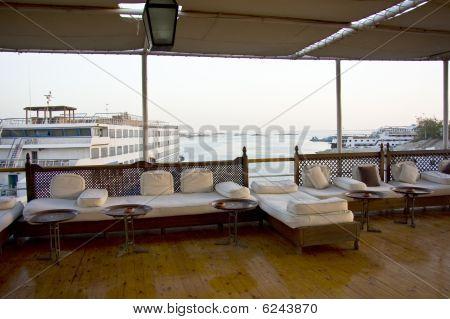 Boat On Lake Nasser