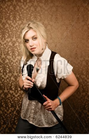 Pretty Young Singer Or Comedian