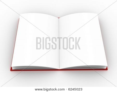 High-res blank book. fill in your own graphic or text to make this an e-book, or a picture of a book at your choice. poster