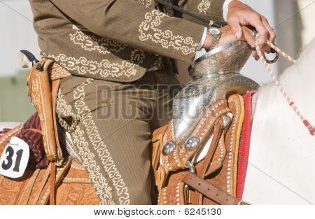 Ornate Hispanic Saddle