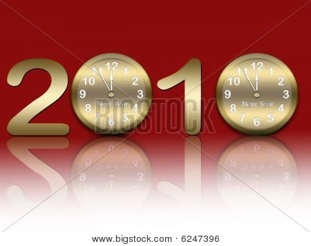 New year`s background