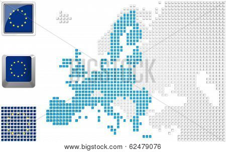 Eu On Map Of Europe