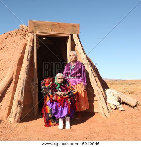 Elderly Native American Women