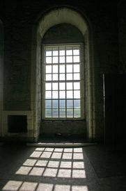 Sunshine Through Arched Windows In Stirling Castle Scotland