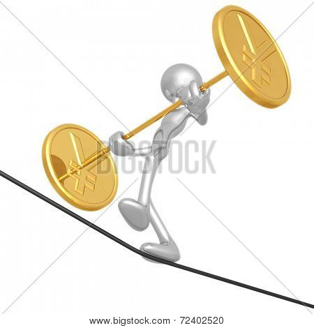Tightrope Yen