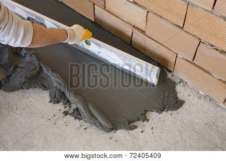 Laying Of Floor Coating