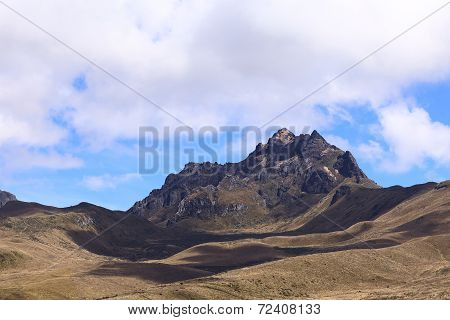Ruku Pichincha Mountain Near Quito, Ecuador