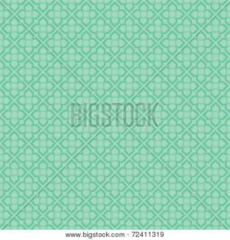 creative retro flora pattern background vector