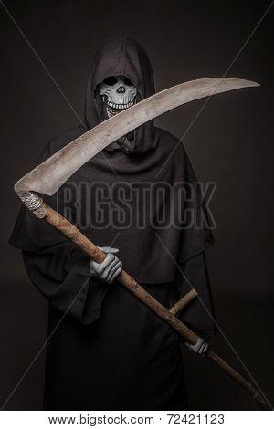 Grim reaper. Death. Halloween.