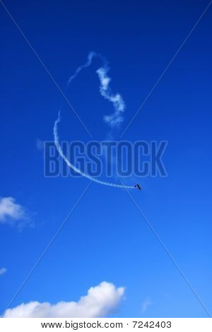 Airplane Fly In The Sky