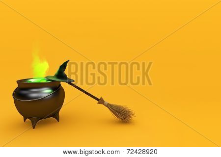 Boiling Witch's Cauldron