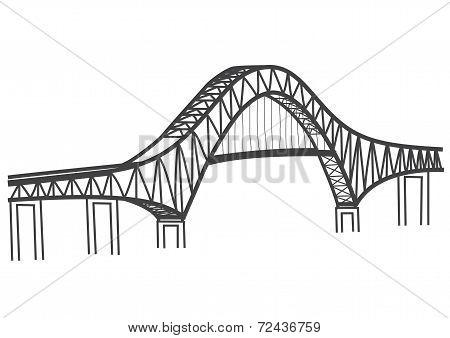 thatcher ferry bridge illustration