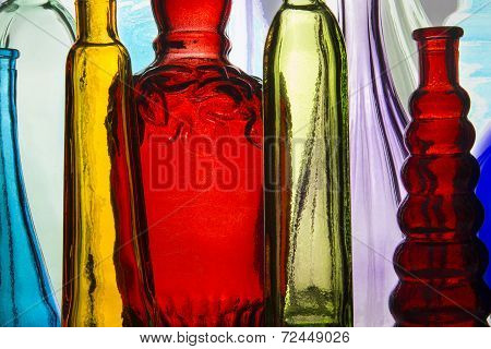 Colorful Bottle Group