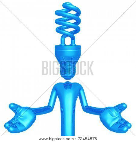 EFL Lightbulb Head