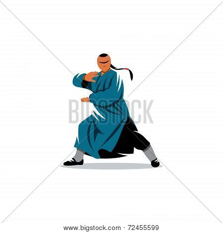 Shaolin Monk Veector Sign