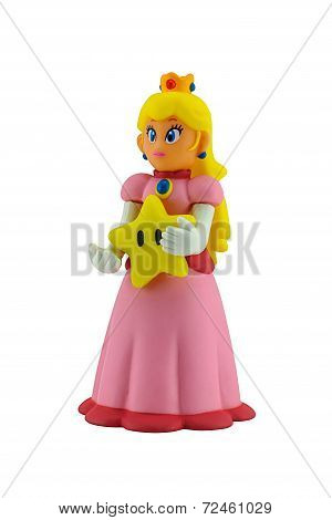 The Princesses Figure Character From Super Mario
