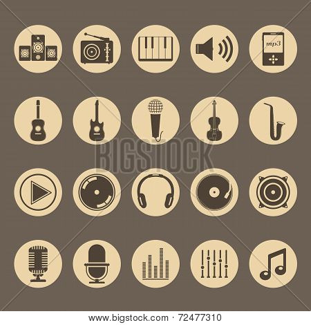 Music and Sound Icons