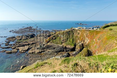 The Lizard peninsula Cornwall England UK south of Falmouth and Penryn
