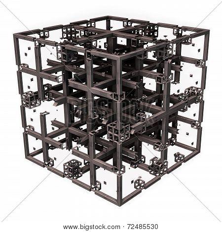 Cross Grid Cube