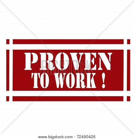 Proven To Work-stamp