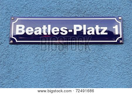 Hamburg Beatles Square