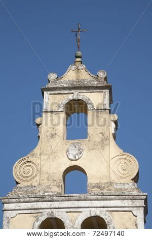 Bell tower on Corfu