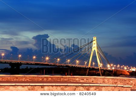 Bridge In Kiev City
