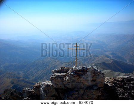 Kreuz auf der alp