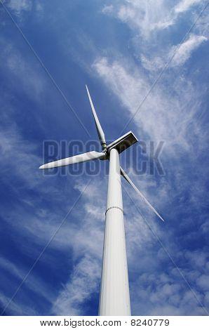 Windmill from below