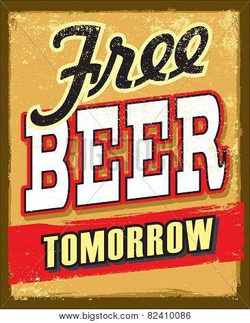 free beer tomorrow