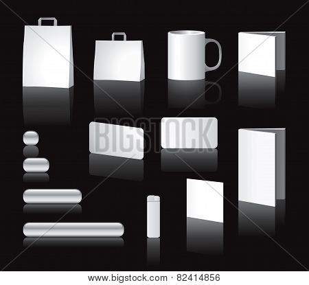 Blank stationary elements
