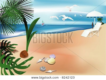 abstract tropical backgrounds
