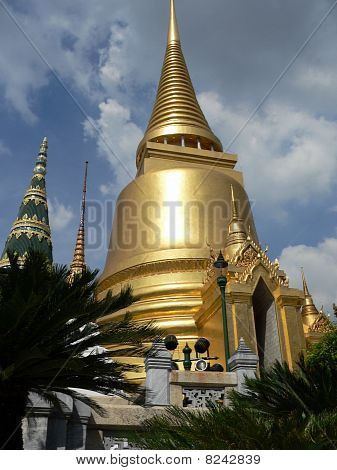 View of the Grand Palace, Bangkok, Thailand