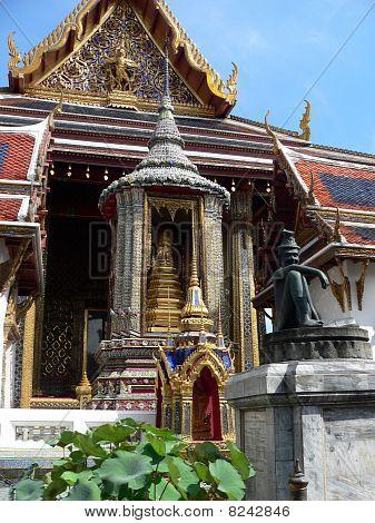 View of the Grand Palace, Bangkok
