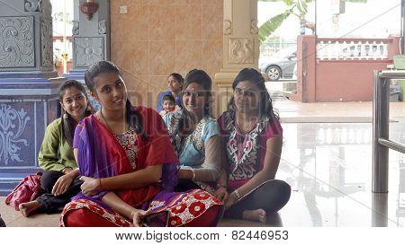 Thaipusam girls
