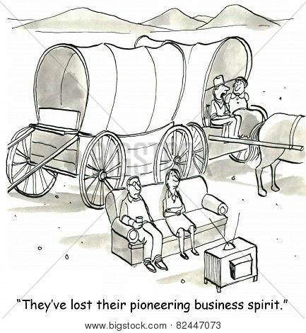 Lost Pioneering Spirit