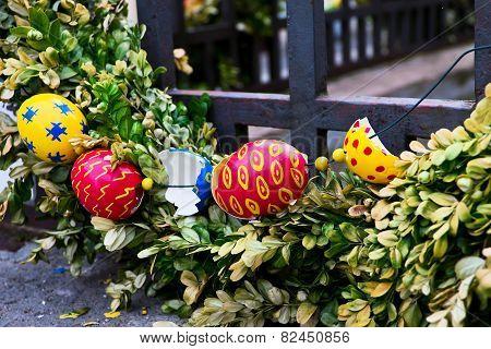 Easter In European City