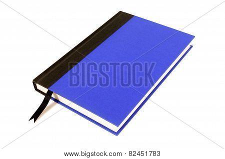 Blue And Black Hardback Book