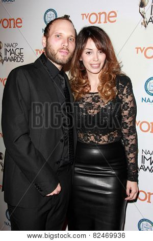 LOS ANGELES - FEB 5:  Jake Goldberger at the 46th NAACP Image Awards Non-Televised Ceremony  at a Pasadena Convention Center on February 5, 2015 in Pasadena, CA