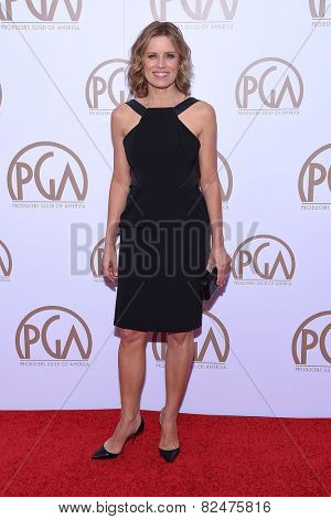 LOS ANGELES - JAN 24:  Kim Dickens arrives to the 26th Annual Producers Guild Awards  on January 24, 2015 in Century City, CA