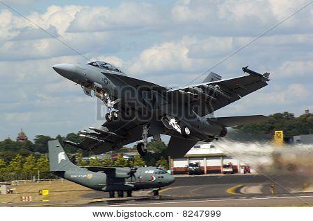 Farnborough Airshow 2010 - F18 Super Hornet